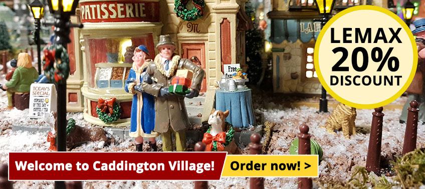 Lemax Caddington Village 20% discount