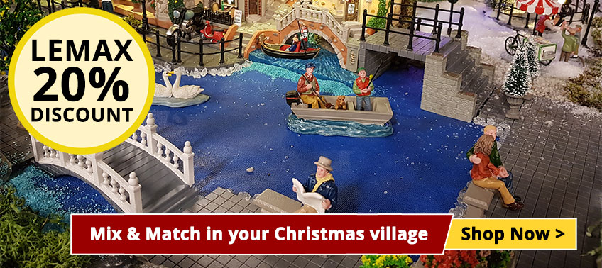 Mix & Match in your Christmas village