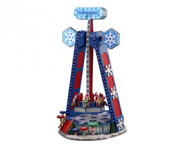 Lemax The Spinning Snowflake + 4,5 Volt Adapter