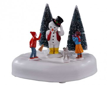 "Lemax Frosty Says ""Hi!"""