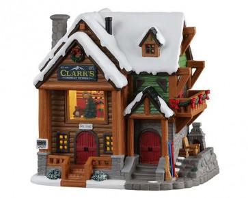 Lemax Clark'S Snowcap Retreat