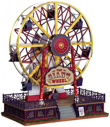 Lemax The Giant Wheel + 4.5 Volt Adaptor