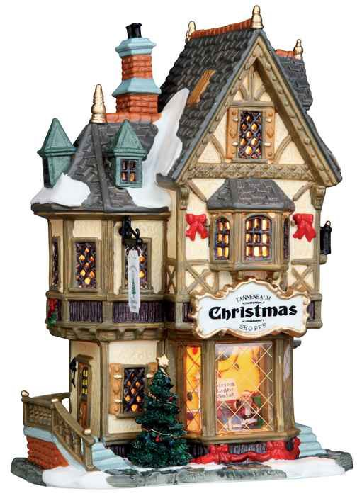 Lemax Tannenbaum Christmas Shoppe Wishpel Village Eu