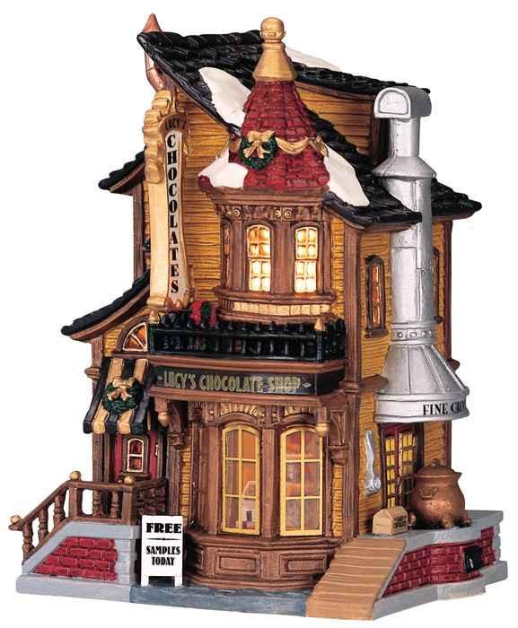 Lemax Lucy S Chocolate Shop Wishpel Village Eu
