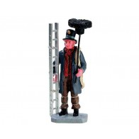 Lemax Chimney Sweep