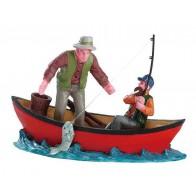 Lemax Canoe Catch