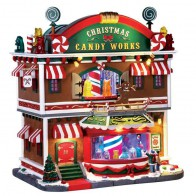 Lemax Christmas Candy Works + 4,5 Volt Adapter
