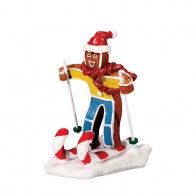 Lemax Candy Cane Skier