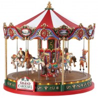 Lemax The Grand Carousel + 4,5 Volt Adapter