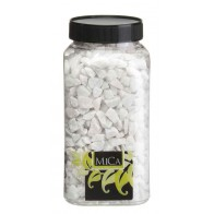 Decoration marbles - white