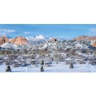 My Village Background Cloth - Colorado 150X75cm