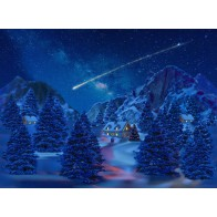 My Village Background Cloth - Falling Star 76X56cm