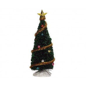 Lemax Sparkling Green Christmas Tree, Medium