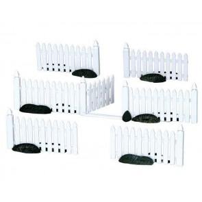 Lemax Plastic Picket Fence