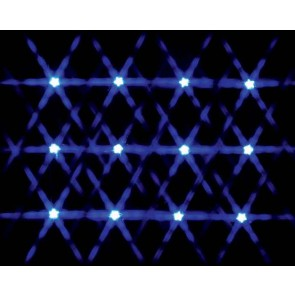 Lemax Lighted Star String - Blue