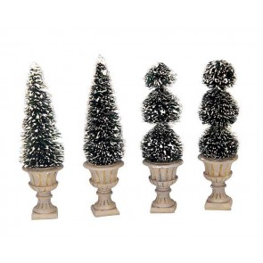Lemax Cone-Shaped & Sculpted Topiaries