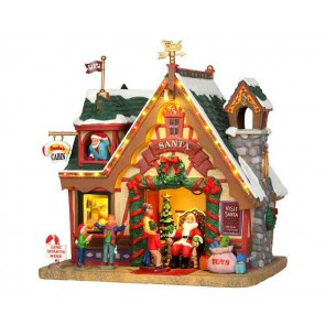Lemax Santa'S Cabin + 4,5 Volt Adapter