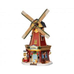 Lemax Harvest Valley Windmill + 4,5 Volt Adapter