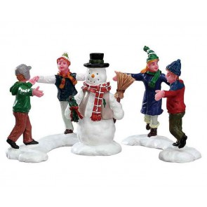 Lemax Ring Around The Snowman