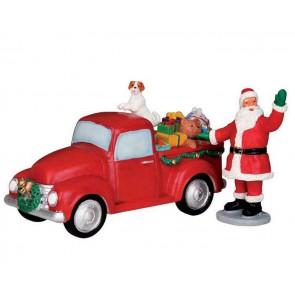 Lemax Santa'S Truck