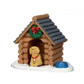Lemax Log Cabin Dog House