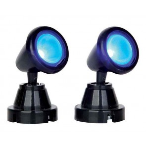 Lemax Round Spot Light, Blue