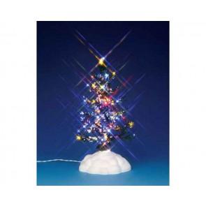 Lemax Lighted Pine Tree, Multi, Medium