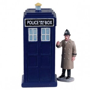Lemax Police Call Box