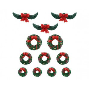 Lemax Garland And Wreaths