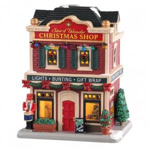 Lemax Star Of Wonder Christmas Shop
