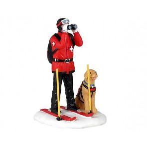 Lemax Ski Patrol