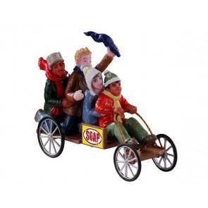 Lemax Go-Cart Racers