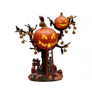Lemax Pumpkin Tree House