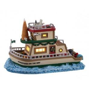 Lemax Jonathan'S Houseboat On The Bay