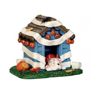 Lemax Tricked Out Doghouse
