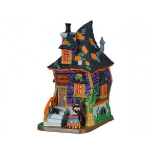 Lemax Witches Bungalow