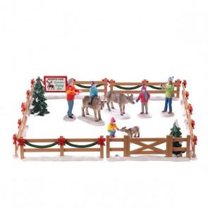 Lemax Reindeer Petting Zoo