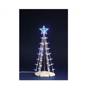 Lemax Lighted Silhouette Tree(Blue), M