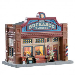 Lemax Little Buckaroo Barbershop