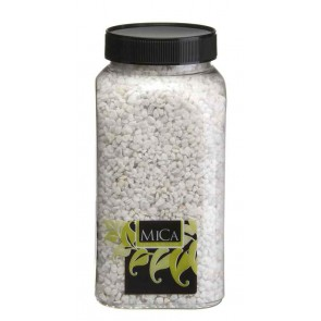Decoration granulate - white