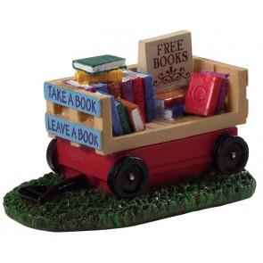 Lemax Book Wagon