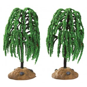 Lemax Spring Willow Tree 2 pc