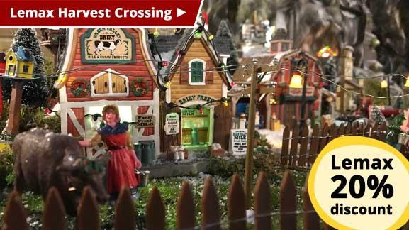Lemax Harvest Crossing - 20% discount
