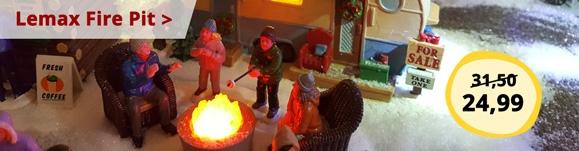 Lemax Fire Pit promotion