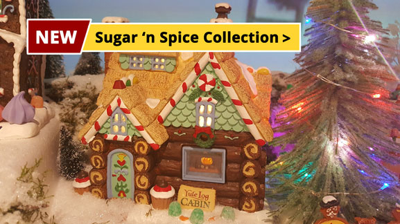 Lemax Sugar 'n Spice collection new