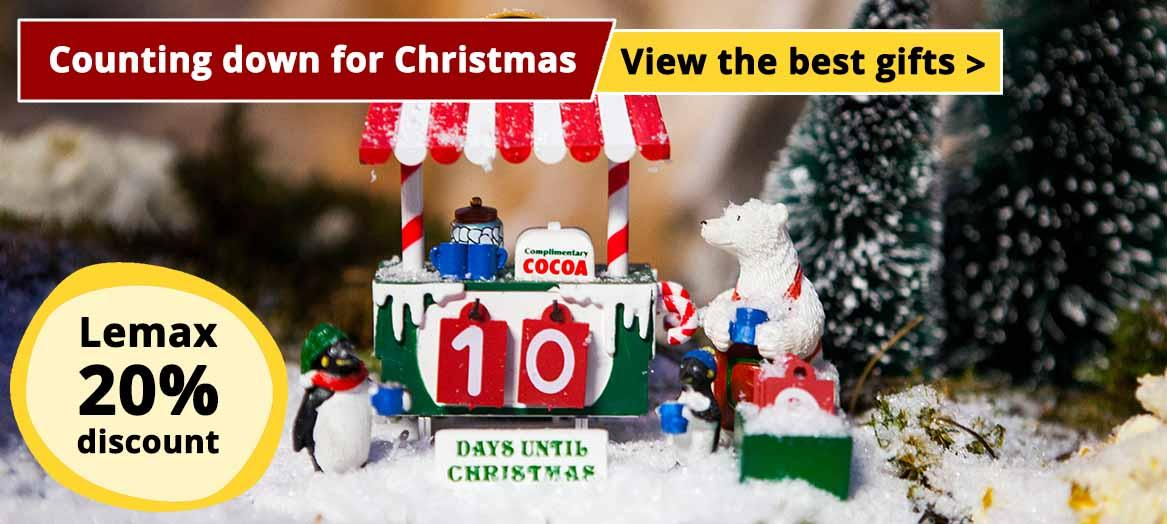Lemax 20% discount - The best gifts for Christmas