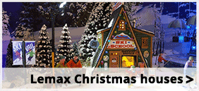 Lemax Christmas houses